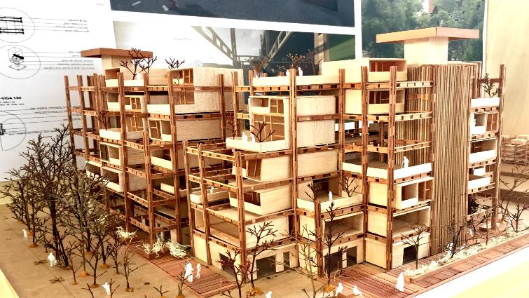 La madera: desafío para futuros arquitectos